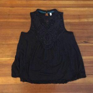 Semi-dressy, Black blouse